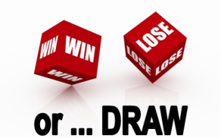 Credit Scale - Win, Lose, Draw Dice